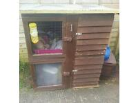 Rabbit cage and play pen