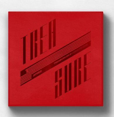 K-POP ATEEZ Album TREASURE EP.2 : Zero To One - 1 Photobook + 1 CD Free ship