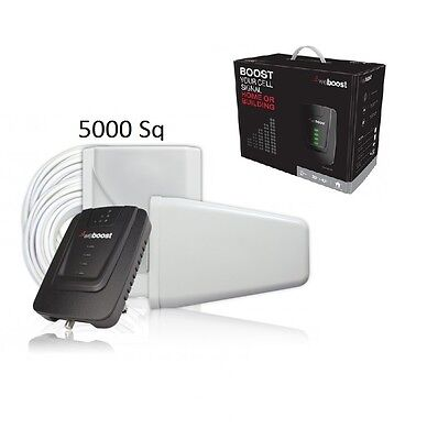 weBoost Wilson Connect 4G Home Cell Phone Signal Booster 470103 - 5000Sq Retail  ()