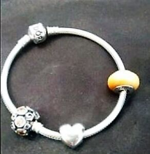 Pandora - Never used - with 3 charms
