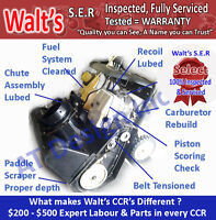 Heavy Duty TORO CCR- 2 Cycle USA Commercial ENGINE Snowblowers