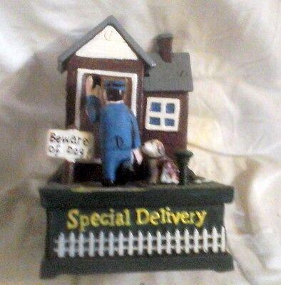 Spardose beware for the Dog Weihnachts Geschenk Vintage Deko Spielzeug Sammler