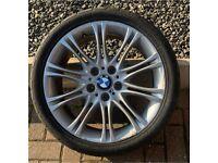 Bmw 3 series alloy wheel 255/35/18