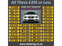 Distinctive Dateless Personal Private Cherished Registration Number Plates From £370 Incl. Transfer
