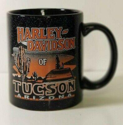 Vintage Original HARLEY DAVIDSON Motorcycles Tucson Arizona Coffee Mug