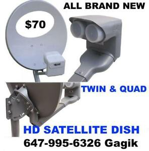 Bell Satellite TV*Shaw Direct*Directv*HD Antenna*IP TV*CAT5 or CAT6*TV Mounting Installations Repair