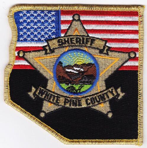 White Pine County Sheriff Nevada NV Police patch