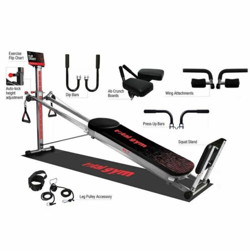 Total Gym XL7 Home Gym with DVDs & Easy Storage NEW - Free Shipping!