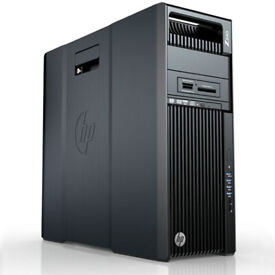 HP Z640 Workstation, 2x Xeon E5-2620 V3, 32GB Ram, 500GB SSD + 1TB GTX