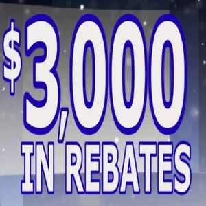 WINDOWS AND DOORS FACTORY REBATE Up to $ 3000 CASH BACK