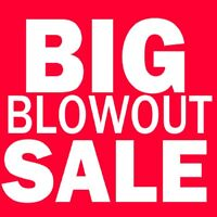 ▬▬ι═══════ﺤ   HUGE CLEARANCE EVENT  -═══════ι▬▬