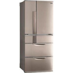 Mitsubishi 655L Multi Drawer Large Freezer & Fridge Refrigerator Sydney City Inner Sydney Preview