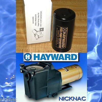 NEW CAPACITOR FOR HAYWARD SUPER PUMP 1 HP or 1.5 HP Max Flo pool parts repair (Hayward Pumps Parts)