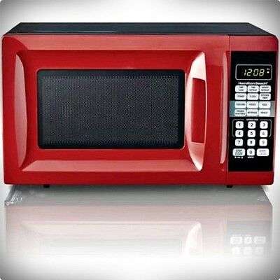 HAMILTON BEACH 0.7-CU FT DIGITAL COUNTERTOP MICROWAVE OVEN ALL COLORS 700 WATTS