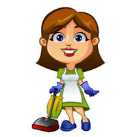 TRUSTABLE PLEASANT CLEANING LADY WITH OWN EQUIP&VEHICLE $25PH