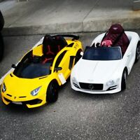 Ride on cars event rentals and sales