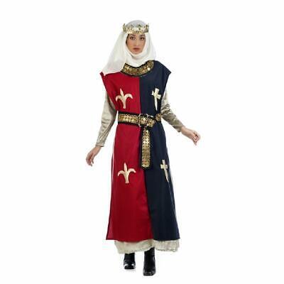 Prinzessin Braveheart Damenkostüm Mittelalter Königin Edeldame Damen Kostüm