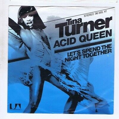 Tina Turner	Acid Queen / Let's Spend the Night Together	7''	United Artists  P/S