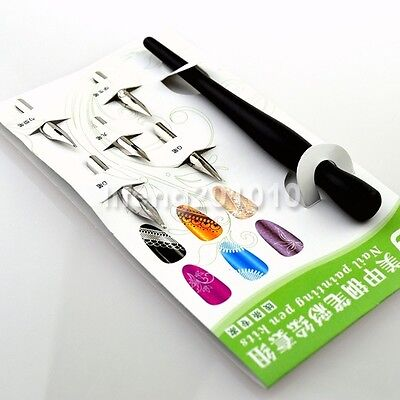 Professional acrylic nail art painting fountain pen kit nail liner drawing tools