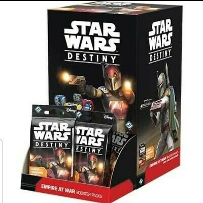 Star Wars Destiny - Empire At War - New Sealed individual booster packs.