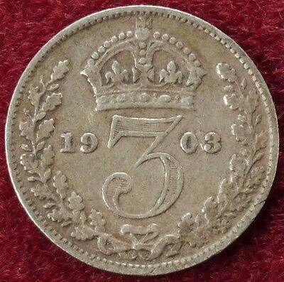 GB Threepence 1903 (B2106)