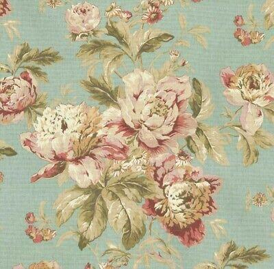 Waverly Flueretta Mist  Home Decor Drapery Fabric  BTY x 54
