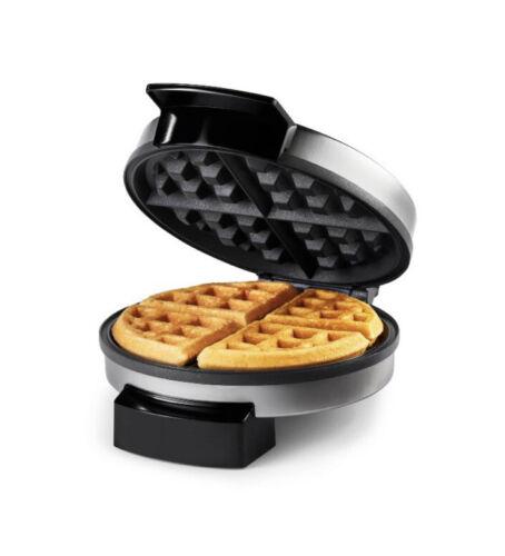 Oster - DuraCeramic Belgian Waffle Maker - Stainless Steel -