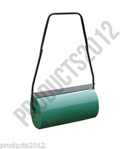 New Large Steel Lawn Roller Garden Roller Water Or Sand Filled
