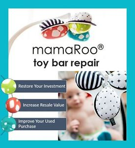 NO MORE DROOPY MAMAROOS ~ REPAIR YOUR HANGING MOBILE TOY BAR