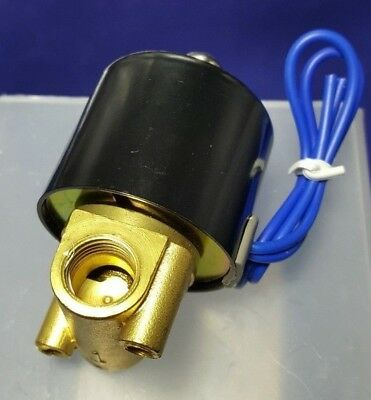 Dc 12v 14 Inch Electric Solenoid Valve For Air Water Replacement Brass Valve