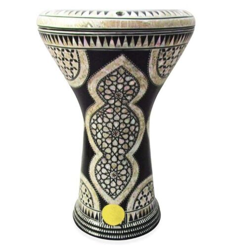 M03 Drum Darbuka tabla doumbek mother of pearl Gawharet El Fan free bag 17 inch