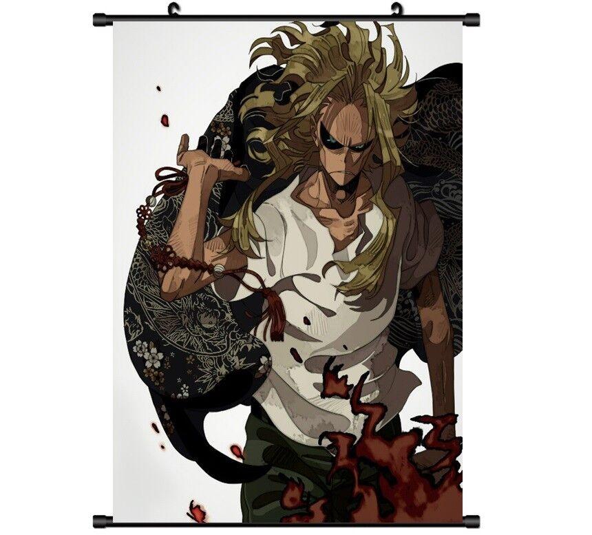 Hot Anime Boku no Hero Academia All·Might Decor Poster Wall