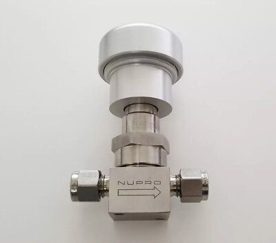Nupro Swagelok New Stainless Steel Bellows Sealed Valve 14 In Ss-4bk91no