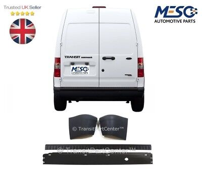 FORD TRANSIT CONNECT REAR BUMPER AND COVER WITH TWO END CAPS 2002 2013