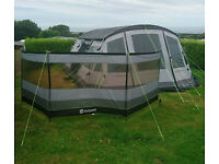 Outwell Alabama 7P Tent Bundle inc. Carpet, Groundsheet, Windbreak & Roof Protector