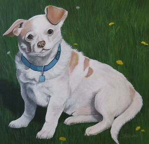 ** Custom Painting Of Your Pet from Your Photo! **