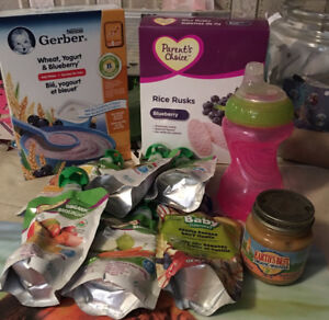 Baby Food Package & Sippy Cup