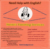 Private Tutoring for: CELPIP, IELTS, ENGLISH and ESL