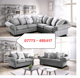 ☑️ Nicole Corner Or 3 + 2 seater Sofa