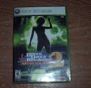 Dance Dance Revolution Universe 2 game for x-box 360