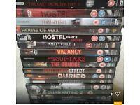 82 horror film dvds huge variety all genuine