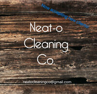 NEAT-O CLEANING CO. - RESIDENTIAL/COMMERCIAL/MEDICAL OFFICE