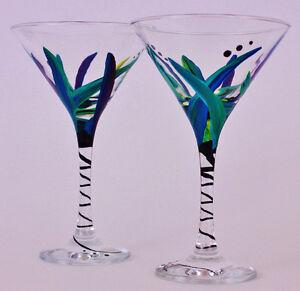 Beautiful Hand-Painted Glassware Stratford Kitchener Area image 2