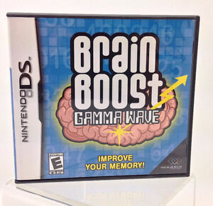 Nintendo DS - BRAINBOOST GAMMA WAVES or lot of 11 games West Island Greater Montréal image 1
