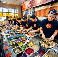 Sherwood Park Blaze Pizza Now Hiring Team Members /Shift Leaders