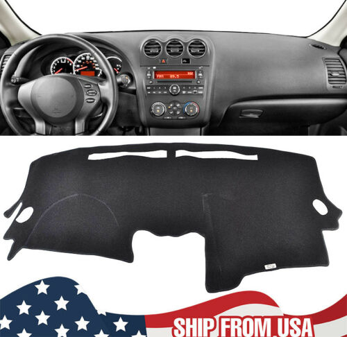 SPEEDWOW Dashboard Dash Board Cover Mat Carpet Compatible with 2007-2012 Nissan Altima Sedan Coupe