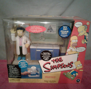 The Simpsons Dr. Nick's Office Environment Playmates