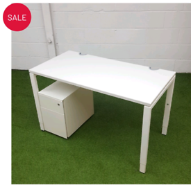 White Small Home Office Desk or office Desk, office furniture