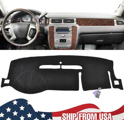 XUKEY Dashboard Pad Dash Cover Mat For Chevy Silverado/Tahoe/Suburban 2007-2013