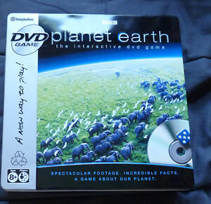 BBC Planet Earth Interactive DVD Board Game